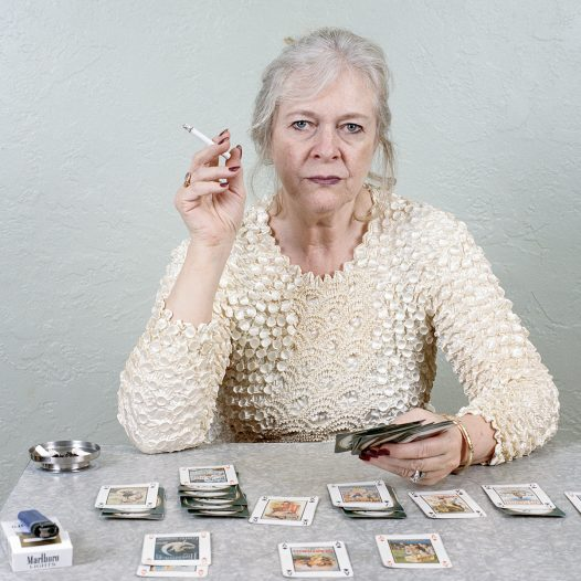 Untitled - Woman at Cards